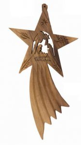 Copertina di 'Cometa ornamentale con Natività'