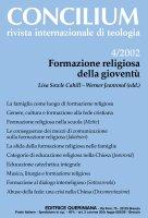 Formazione religiosa della gioventù