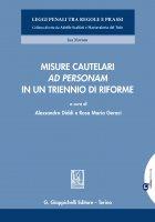 Misure cautelari 'ad personam' in un triennio di riforme - Alessandro Diddi, Adolfo Scalfati, Filippo Dinacci