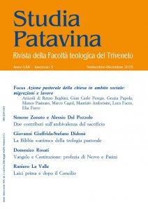 Copertina di 'Studia Patavina 2015/3'