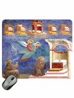 """Mousepad """"Visione dei troni"""" - Giotto"""