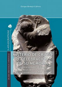 Copertina di 'Misterio de Cristo y celebración de su memoria'