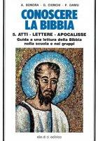 Conoscere la Bibbia vol.5 - Antonio Bonora
