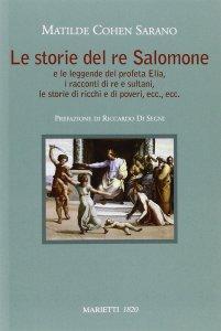 Copertina di 'Storie del re Salomone e le leggende del profeta Elia'
