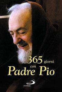 Copertina di '365 giorni con Padre Pio'