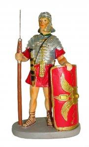 Copertina di 'Soldato con scudo Linea Martino Landi - presepe da 12 cm'