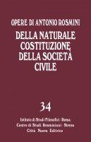 Della naturale costituzione della società civile - Antonio Rosmini