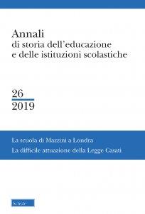 Copertina di 'La Scuola di Mazzini a Londra'