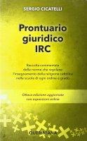 Prontuario giuridico IRC NE - Cicatelli Sergio