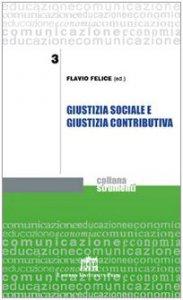 Copertina di 'Giustizia sociale e giustizia contributiva'