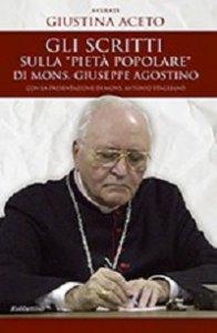"""Copertina di 'Scritti sulla """"pietà popolare"""" di mons. Giuseppe Agostino. (Gli)'"""