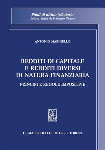 Copertina di 'Redditi di capitale e redditi diversi di natura finanziaria'
