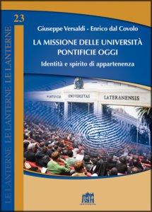 Copertina di 'La missione delle università pontificie oggi'
