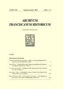 Copertina di 'Terziari francescani e assistenza ospedaliera nel medioevo tra Umbria e Marche (sec. XIII-XV)  (pp. 25-59)'