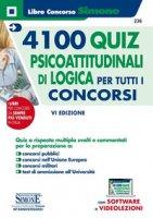 4100 quiz psicoattitudinali di logica per tutti i concorsi. Con espansione online
