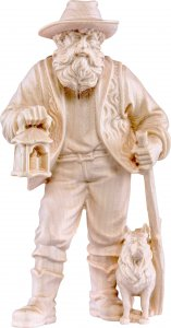 Copertina di 'Pastore con lanterna H.K. - Demetz - Deur - Statua in legno dipinta a mano. Altezza pari a 11 cm.'