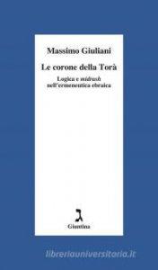 Copertina di 'Le corone della Torà'