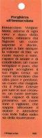 Immagine di 'STOCK: Segnalibro in pvc cm 3,8x12,7 con resina della Madonna Miracolosa e preghiera - italiano'