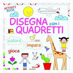 Copertina di 'Disegna con i quadretti. Activity book'