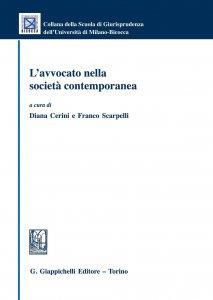 Copertina di 'L'avvocato nella società contemporanea'
