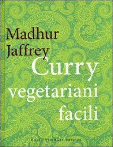Copertina di 'Curry vegetariani facili'