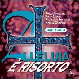 Copertina di 'Alleluia è risorto. CD - Basi Coro Canti Pasquali per la Messa con i Giovani'