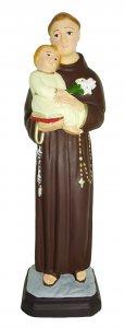 Copertina di 'Statua da esterno di Sant'Antonio in materiale infrangibile, dipinta a mano, da 60 cm'