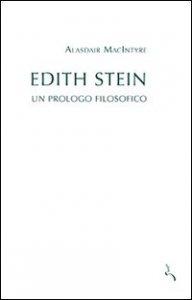 Copertina di 'Edith Stein. Un prologo filosofico'