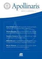Alcuni aspetti sull'iter redazionale relativo alla disciplina de diebus festis et poenitentiae nella codificazione orientale del CCEO (Cann. 880-881) - Cristian Crisan