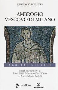 Copertina di 'Ambrogio vescovo di Milano'