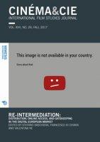 Cinéma & Cie. International film studies journal (2017)