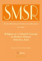 SMSR. 2/2016 (vol. 82): Religion as a Colonial Concept in Modern History.