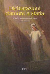 Copertina di 'Dichiarazioni d'amore a Maria'