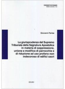 Copertina di 'La giurisprudenza del supremo tribunale della segnatura apostolica'