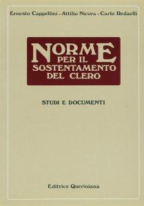 Copertina di 'Norme per il sostentamento del clero. Studi e documenti'