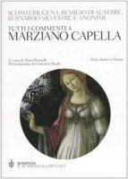 Tutti i commenti a Marziano Capella. Testo latino a fronte