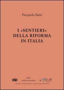 Copertina di 'I «sentieri» della riforma in Italia'