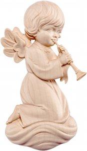 Copertina di 'Angelo Pitti con trombone - Demetz - Deur - Statua in legno dipinta a mano. Altezza pari a 10 cm.'