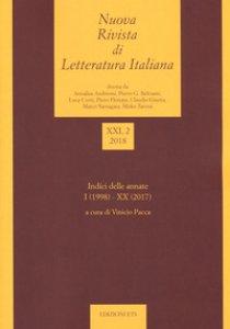 Copertina di 'Nuova rivista di letteratura italiana (2018)'