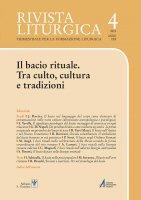 I baci rituali  nella liturgia romana odierna - Angelo Lameri