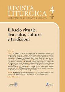 Copertina di 'I baci rituali  nella liturgia romana odierna'