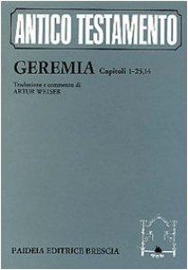 Copertina di 'Geremia: capitoli 1-25, 14 / Cur. Weiser A.'