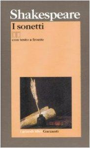 Copertina di 'I sonetti. Testo inglese a fronte'