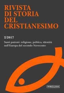 Copertina di 'RSCR. 2/2017: Santi patroni: religione, politica, identità nell'Europa del secondo Novecento.'