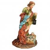 Immagine di 'Gruppo Natività in resina colorata - altezza 87 cm'