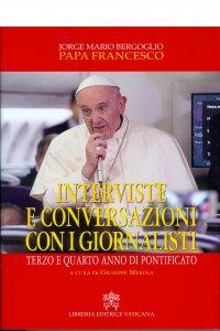 Copertina di 'Interviste e conversazioni con i giornalisti'