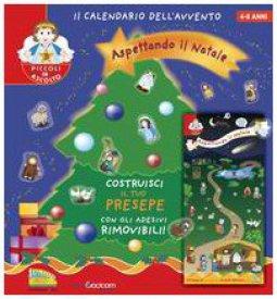 Copertina di 'Aspettando il Natale. Il calendario dell'avvento. Con gadget'
