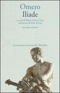 Copertina di 'Iliade. Testo greco a fronte'