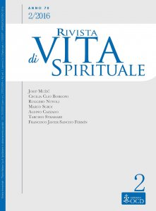 Rivista di Vita Spirituale - 2016/2