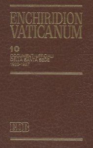 Copertina di 'Enchiridion Vaticanum. 10'